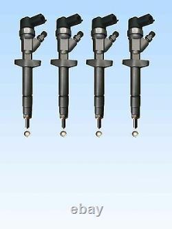 4 x Injektor Bosch 0445110087 Renault Trafic Master II 2.5 dCi Trafic II 2.5 DTi