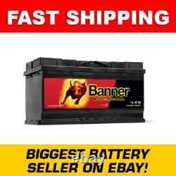 Banner 019 Starting Bull 59533 Car Battery Renault Trafic Volvo VW Crafter etc