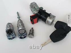 Complete Kit Lock Door + neiman Kangoo Trafic Master With 2 Key Remote