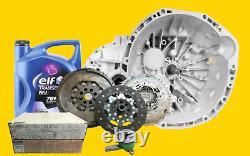 Gearbox PF6 2.3 Master Trafic Vivaro + Clutch Kit And Dual Mass Flywheel