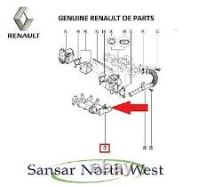 Genuine Renault Master 2.3 Dci -EGR VALVE COOLER Heat Exchanger 8200719993