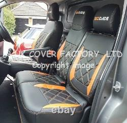 Ready In Stock! Renault Master Vauxhall Movano 2010+ Van Seat Cover Orange A29