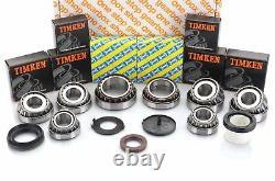 Renault Trafic / Master Pf6 Gearbox Timken Bearing Rebuild Kit