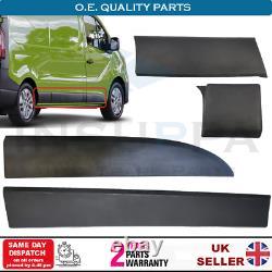 Right Side Moulding Panel Set For Renault Master MK3 Vauxhall Vivaro B MK2 14 On