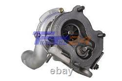 Turbolader VOLVO OPEL MITSUBISHI NISSAN RENAULT 80PS-102PS 703245 + Montagesatz