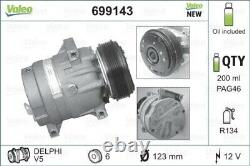 VALEO Kompressor Klima Klimaanlage Klimakompressor NEW ORIGINAL PART 699143